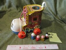 Fisher Price Little People Play Family Pull A Long Lacing Shoe 146 Wood Grandma