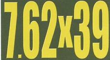 "Vinyl Ammo Can Magnet label ""7.62x39"" Bold"