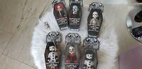 Mezco LIVING DEAD MINI Dolls SEALED Horror Toy Gothic Punk Vintage Lot of 6