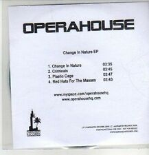 (CM863) Operahouse, Change In Nature - 2008 DJ CD