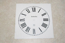 ONE SEIKOSHA PAPER DIAL 5 INCH TIME TRACK WHITE DIAL
