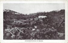 ST HELENA :   Government House,St Helena- undivided back