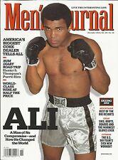 Men's Journal magazine Muhammad Ali Boston Bruins Wine Best world resorts