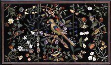 61x122cm Marmo Divano Tavolo Top Pietra Corridoio Intarsiato Arte ad