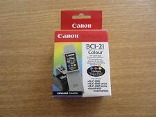Cartouche Couleur Canon Neuve BCI-21 C - 3 Couleurs Genuine Canon BCI 21 bci21