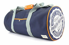 American Freshman Oakland Barrel PALESTRA blocca tutti Bag Navy & Orange 22717