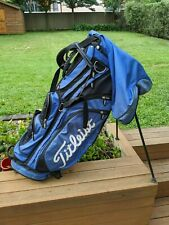Titleist Carry Stand Bag - Blue Raincover