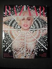 HARPERS BAZAAR Magazine - March 2014 - Big Fashion Issue, Lady Gaga Cover