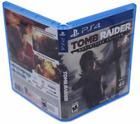 Tomb Raider Definitive Edition PS4 Replacement Game Case And Insert No Game Disc