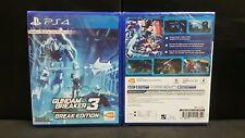 (ASIA ENGLISH VERSION) PS4 Gundam Breaker 3 Break Edition (Brand New)
