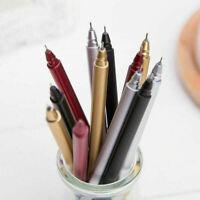 Selling Metal Gel Pen Student Office School Stationery Ballpoint J6Z9 Q1O5