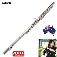 Western Concert Flute Student Beginners Flute 16 Holes C Key 1 Year Warranty