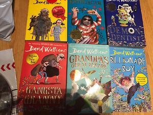 David Walliams Book Bundle Gangsta Granny, Grandpas Great Escape, Demon Dentist