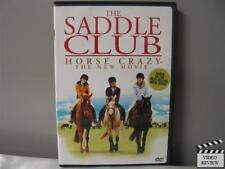 The Saddle Club - Horse Crazy: The New Movie (DVD, 2005)