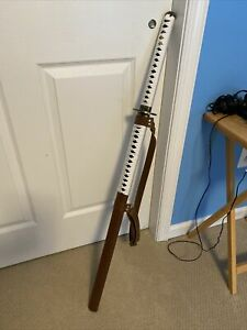 The Walking Dead Michonne Custom Unsharpened Straight Katana