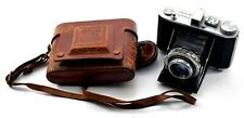Vintage Six 6 Olympus Camera No: 152564 Rare With Original Leather Case