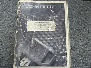John Deere 8440 & 8640 4WD Tractor Shop Service Repair Technical Manual TM1199