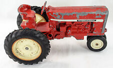 Vintage International Toy Red Farm Tractor Ertl Company Dyersville Made in USA