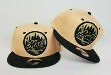 New Era New York Mets  9fifty Snapback Hat Jordan 1 Crimson Tint