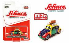 Schuco 1:64 Mijo Volkswagen Beetle Kafer Harlekin Model Car 4900 Limited 2,400