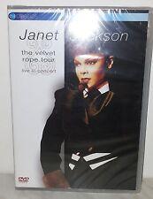 DVD JANET JACKSON - VELVET ROPE TOUR - NUOVO NEW