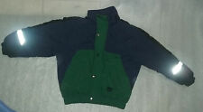 Apparatus Boys Lined Puffy Winter Coat Jacket Zipper & Snaps Size 4-6 Years