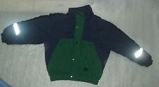 Apparatus Boys Lined Puffy Winter Coat Jacket Zipper Snaps Small 4-6 Years