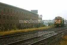 Boston & Maine RR 1566 Manchester NH original track route 1965