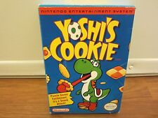 NINTENDO (NES)  YOSHI'S COOKIE (with Box and Instructions)