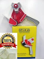2 ROLLS CLEAR PACKING TAPE + 1 TAPE DISPENSER HEAVY DUTY/HOUSEHOLD USE