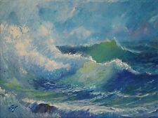 Contemporary Art/ Original Painting by American Artist Samuel Johnson /Seascape