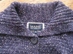 Womens Debenhams Maine Zip Up Cardigan Navy White Stripes Plus Size 16 18 20 22