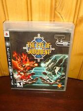 THE EYE OF JUDGMENT FOR PLAYSTATION 3 PS3 NEW AND SEALED! GAME ONLY