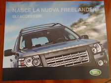 LAND ROVER FREELANDER 2 ACCESSORI OPUSCOLO 2006 TESTO ITALIANO