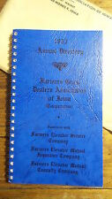 1953 ANNUAL DIRECTORY of FARMERS GRAIN DEALERS ASSOCIATION OF IOWA Cooperative