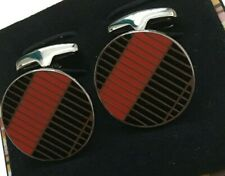 Paul Smith stripes Patterned cufflinks