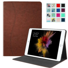 Slim Fit Multi Angle Case Stand Cover w/ Pocket For iPad 9.7'' 2017,iPad Air 2/1