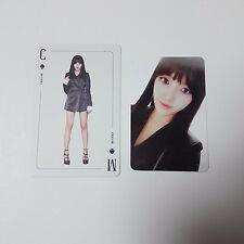 AOA 1st Angel's Knock CHAN MI Official Original Photocard 2p K-POP Idol B ver.