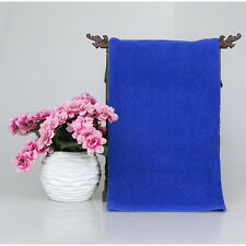 2 Pcs Blue Microfiber Towel Car Cleaning Wash Clean Cloth 70 X 30CM