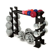 NEW Multiple Dumbbell Rack Storage Equipment Fitness Workout Weights Frame Hold