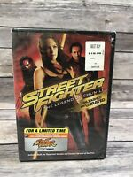 Street Fighter: The Legend of Chun-Li (DVD, 2009, 2-Disc Set, Rated/Unrated) NEW