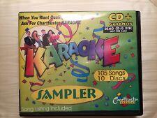 10 CD+G Discs Karaoke Sampler 105 Chartbuster Songs