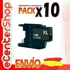 10 Cartuchos de Tinta Negra LC1240 NON-OEM Brother MFC-J430W / MFCJ430W