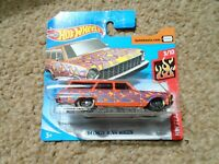 Hot Wheels 1:64 HW Flames 2020 Series - '64 Chevy Nova Wagon - Brand New Boxed