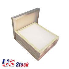 "US Stock 6pcs 20"" x 24"" Aluminum Screen Printing Frame with 160 Mesh White"