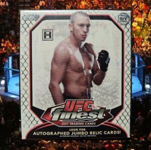 2011 Topps Finest UFC Hobby Box, 30 Cards NEW SEALED Dustin Poirier Rookie? (DD)