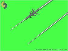 SUKHOI Su-25 (K/UB) FROGFOOT PITOT TUBES to Trumpeter, etc. #32091 1/32 MASTER