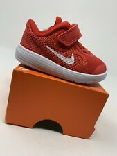 BABY BOYS: Nike Revolution 3 Shoes, Red - Size 3C 819415-601