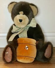 Boyds Bears ~ Bumbles S. Beezley ~ Bear With Honey Pot ~ Plush