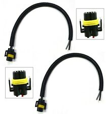 Extension Wire Pigtail Female P S H11 Two Harness Fog Light Replace Connector OE